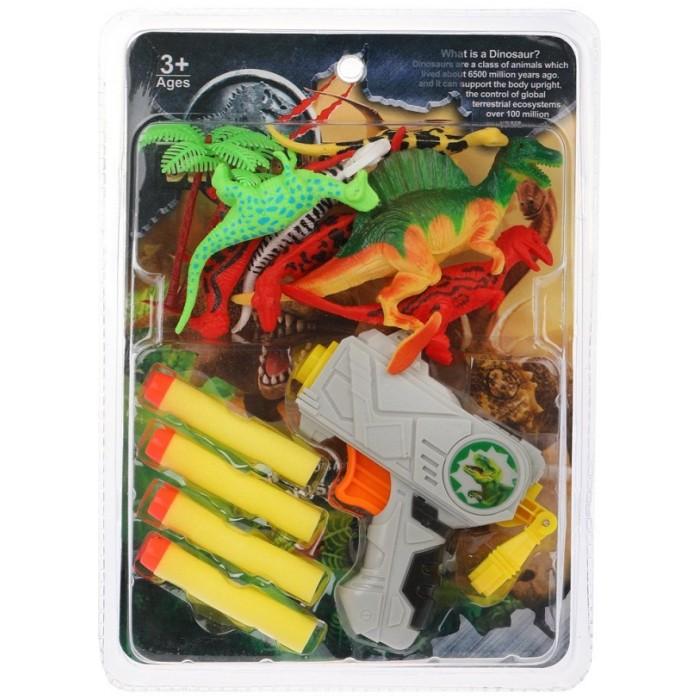 Бластер Наша игрушка с мягкими пулями, арт. BF6986-88
