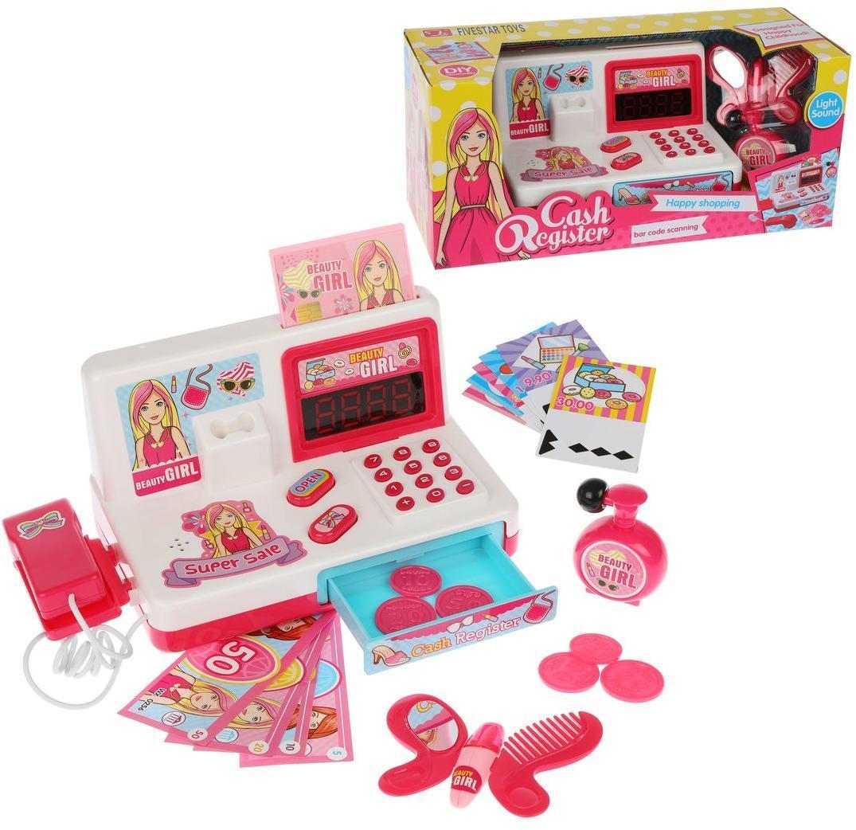 Игровой набор Наша игрушка Касса, 7 предметов