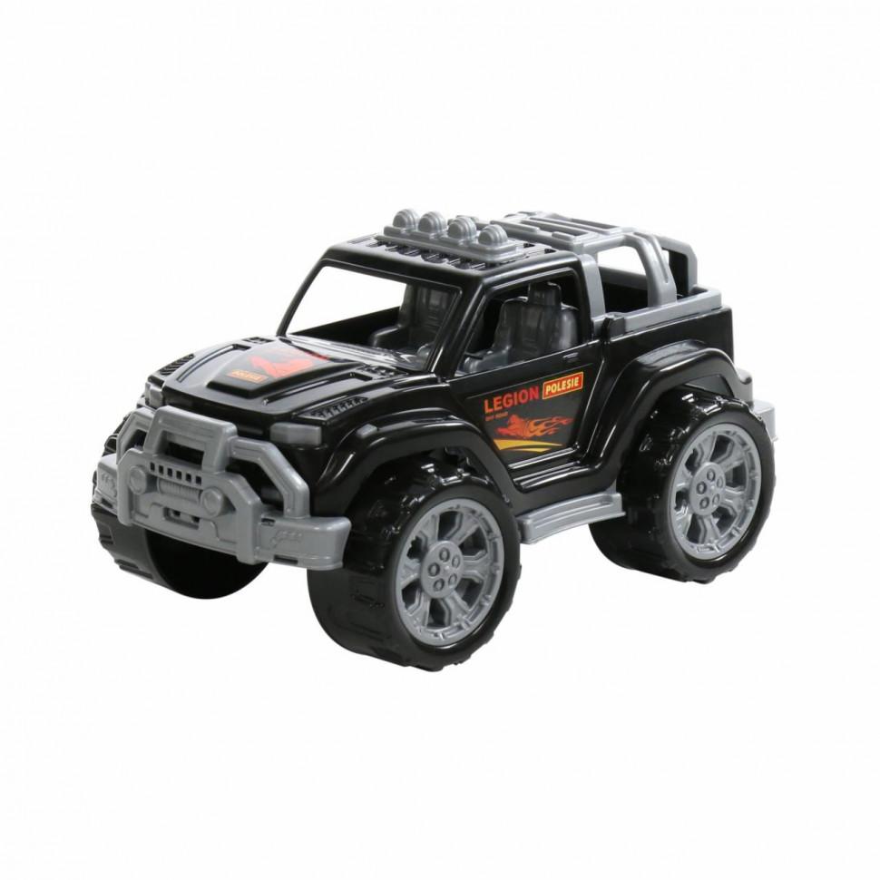Купить Игрушка Полесье Автомобиль Легион №2 чёрный,