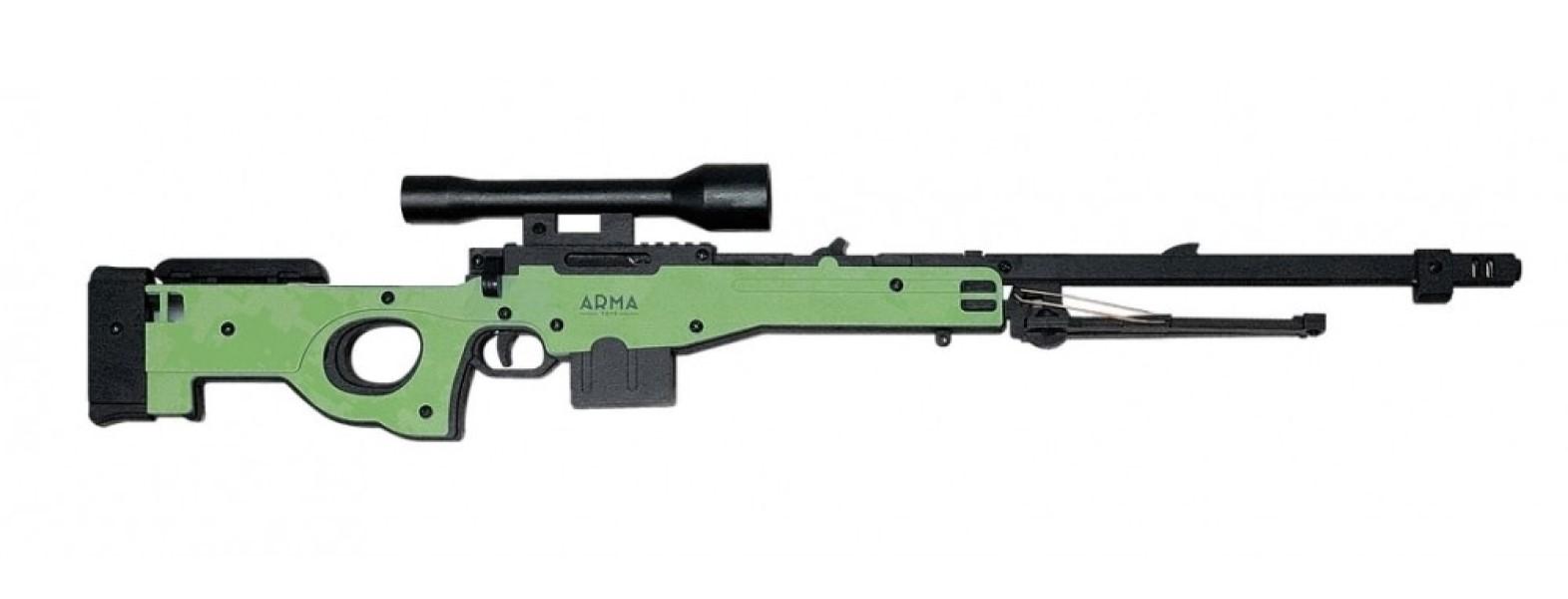 Резинкострел в сборе Винтовка AWP ARMA TOYS
