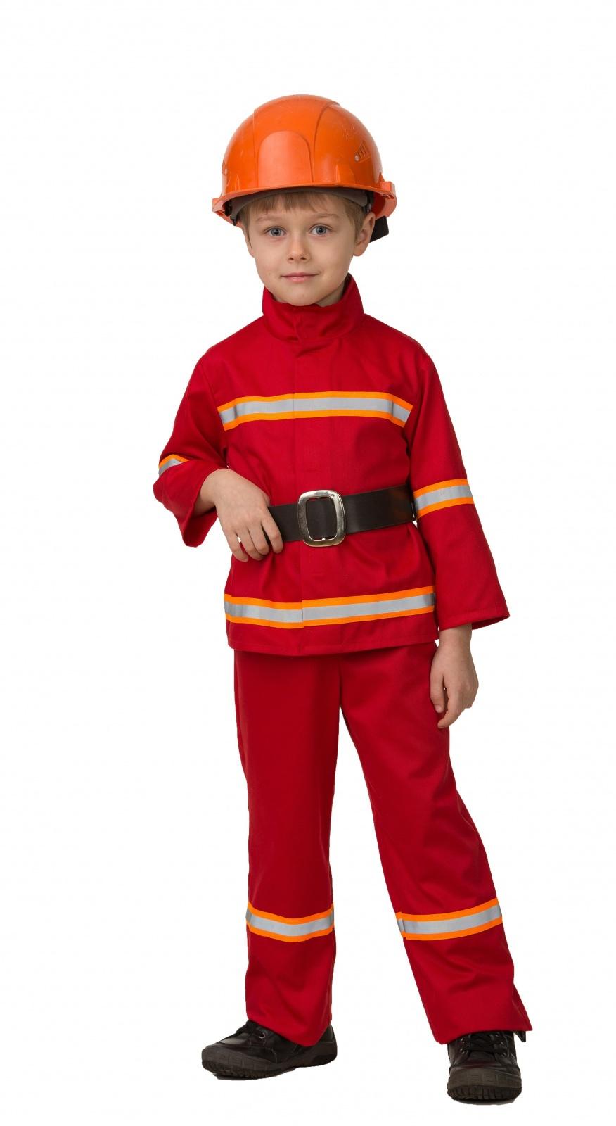 Купить Карнавальный костюм Батик Пожарный, размер 128-64,