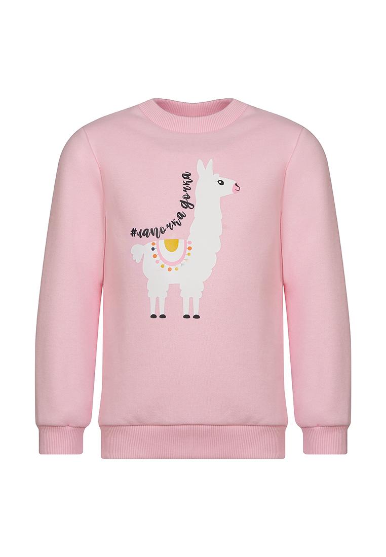 Толстовка для девочек OLDOS, цв. розовый,