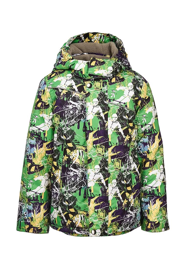 Куртка для мальчиков OLDOS, цв. зеленый,