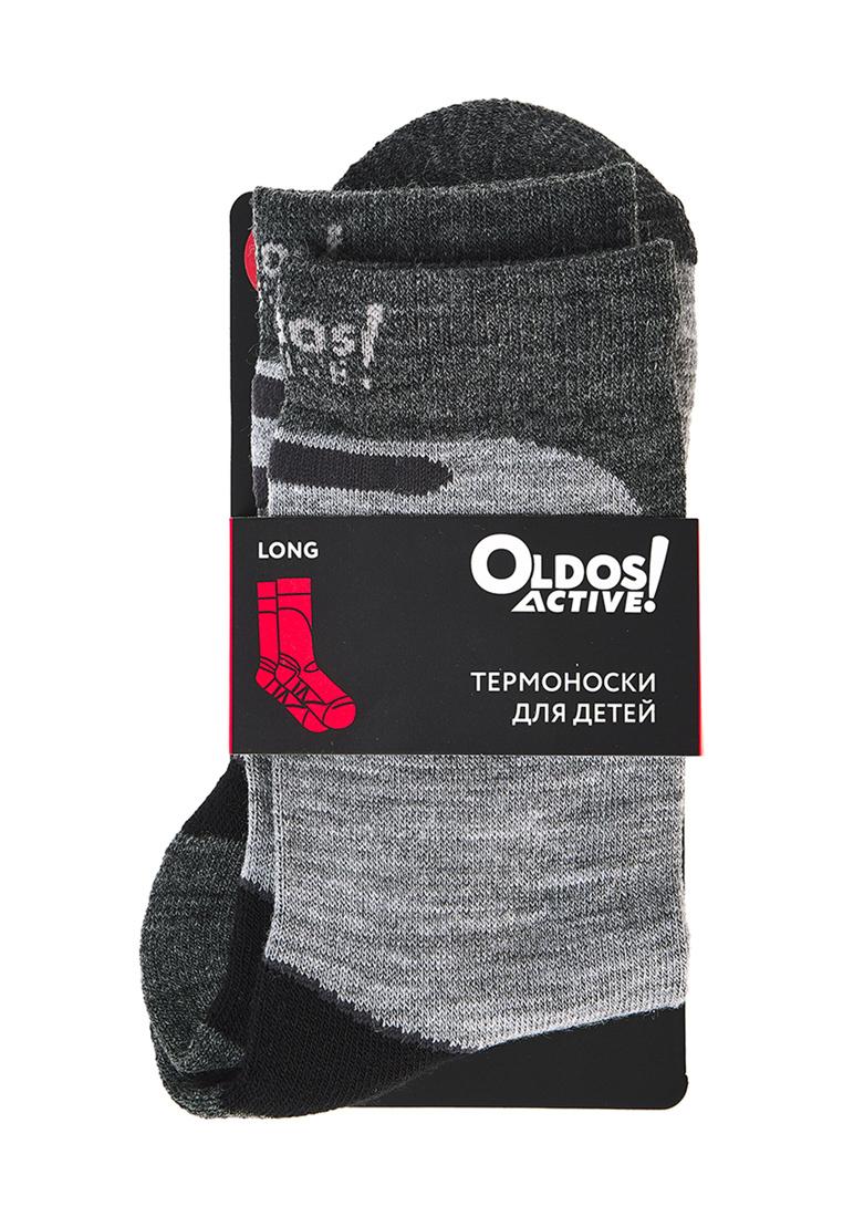 Носки для детей OLDOS, цв. серый, черный,