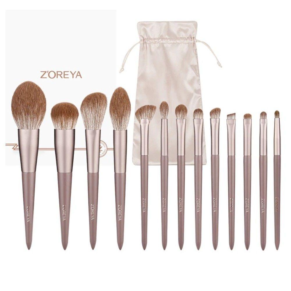 Купить Набор кистей ZOREYA для макияжа, 13 шт, , Zoreya_084