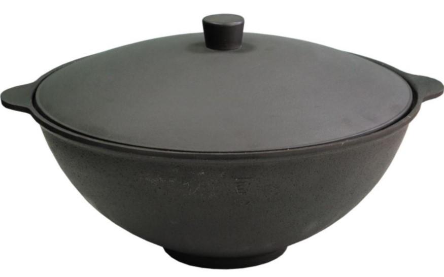 Чаша азиатская с крышкой без дужки 4,0 л - К (казан) Блз-53 от Балезинский ЛМЗ