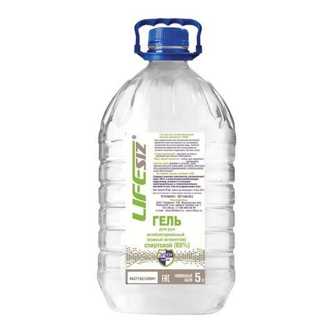 Купить Гель для рук Элен антисептический спиртосодержащий (65%) 5 л