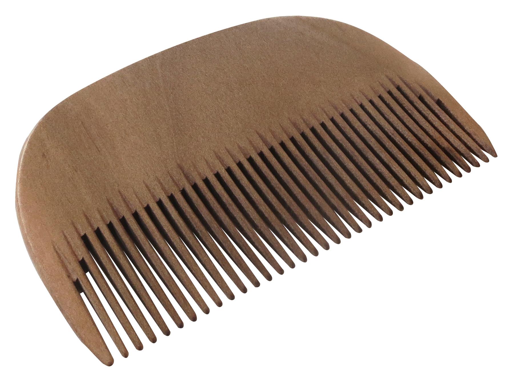 Купить Расческа-гребень Keller 6231500 для бороды ручной работы (груша)