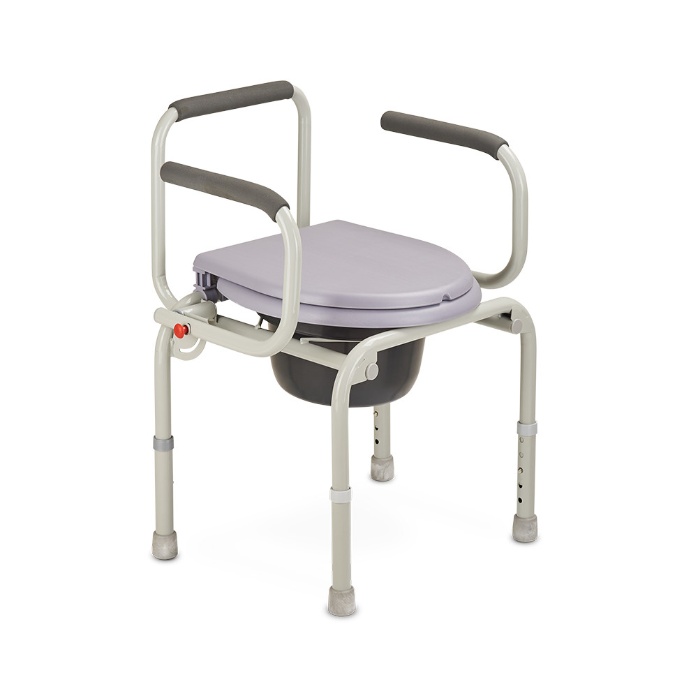 Кресло-туалет для инвалидов (стул с санитарным оснащением) Армед ФС813, Armed  - купить со скидкой