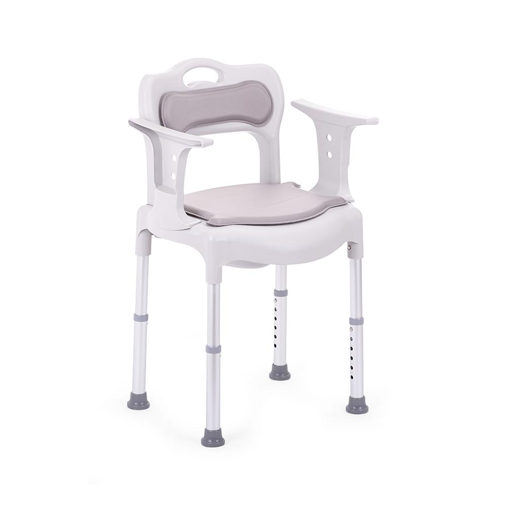 Купить Кресло-туалет для инвалидов и пожилых людей с санитарным оснащением Армед H027B, Armed