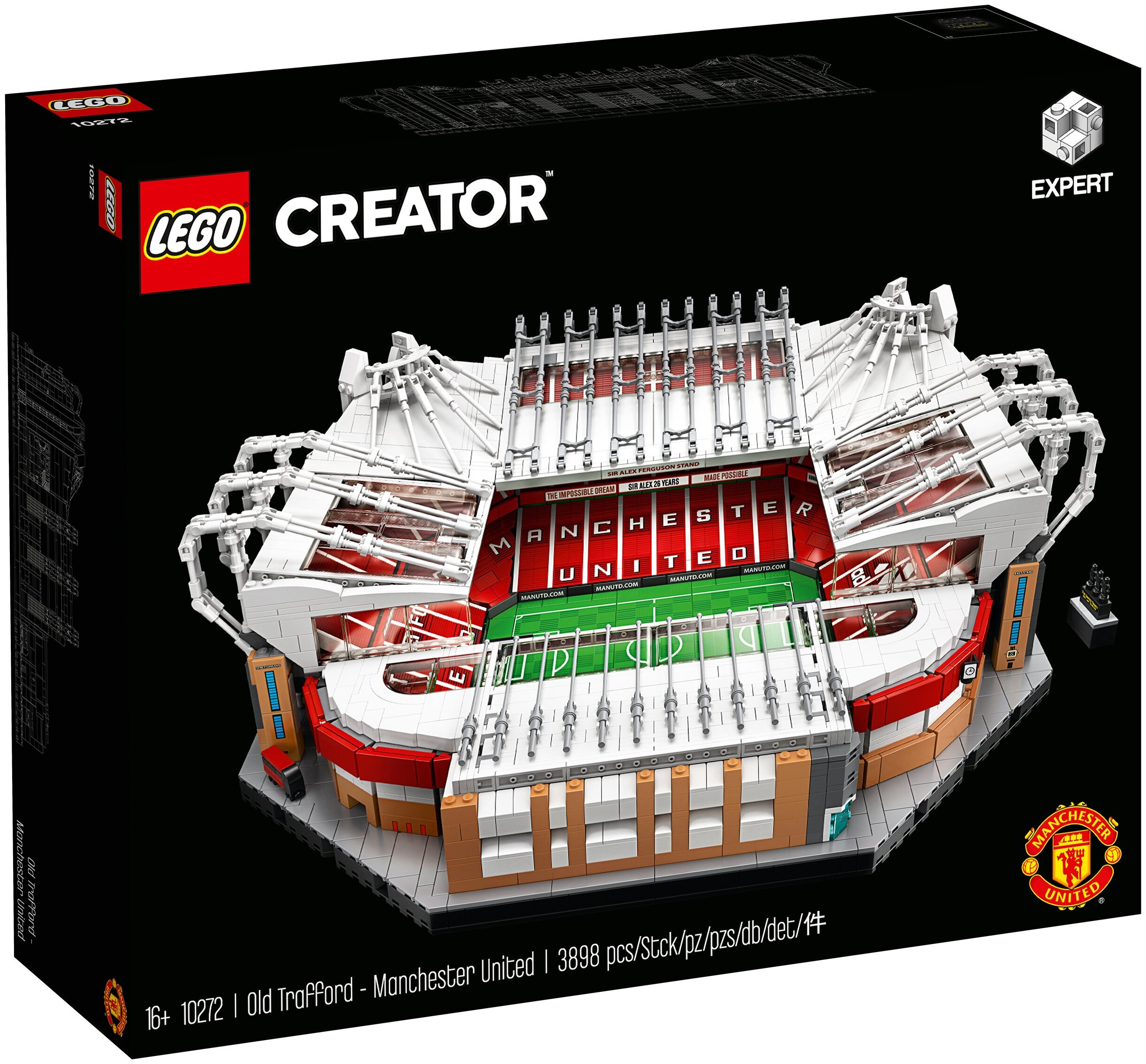 Конструктор LEGO Creator 10272 Стадион Олд Траффорд - Манчестер Юнайтед