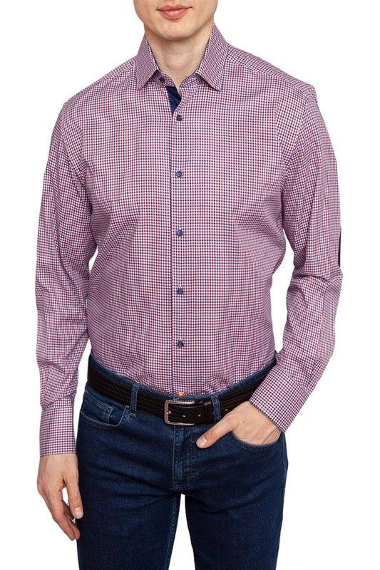 Рубашка мужская Kanzler 19S-SW01RLSN/03-3 синяя 46