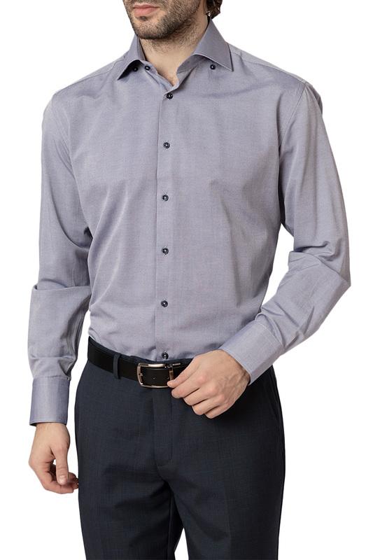 Рубашка мужская HOFFSTEIN 19S-SH14RLSN/03-4 серая 50
