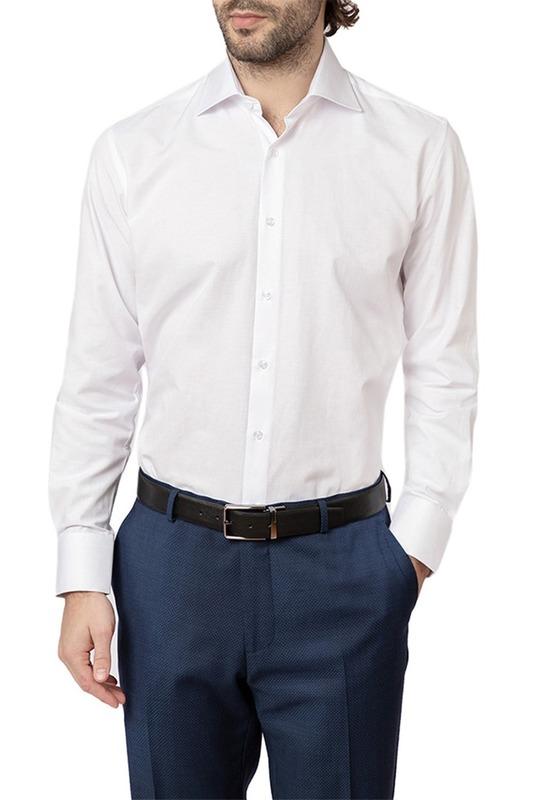 Рубашка мужская Kanzler 19S-SC01SLSN/01 белая 44