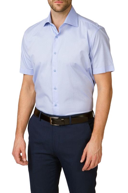 Рубашка мужская Kanzler 18S-SBL29SSS/02-2 голубая 54