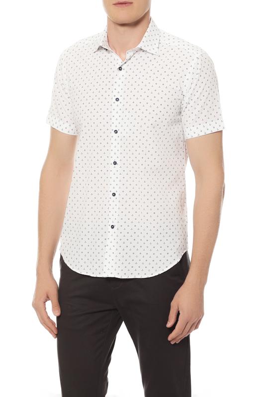 Рубашка мужская Van Cliff 14526 белая 46