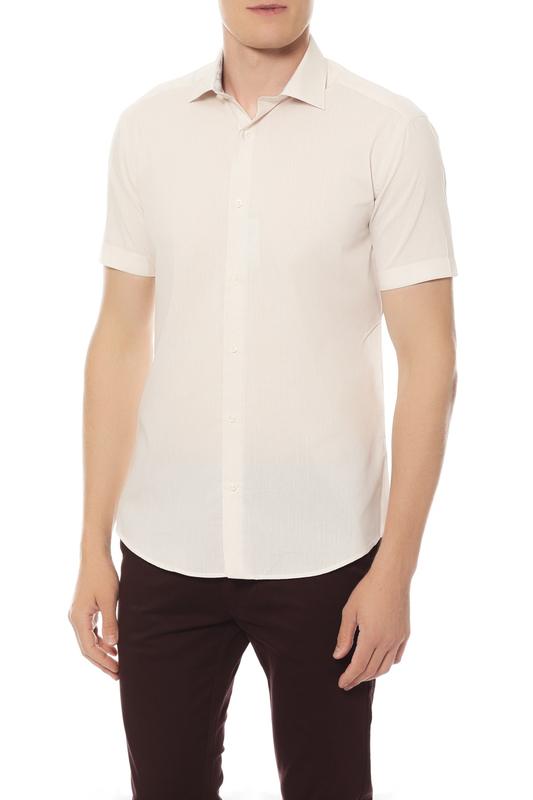 Рубашка мужская Van Cliff 14434 серая 48