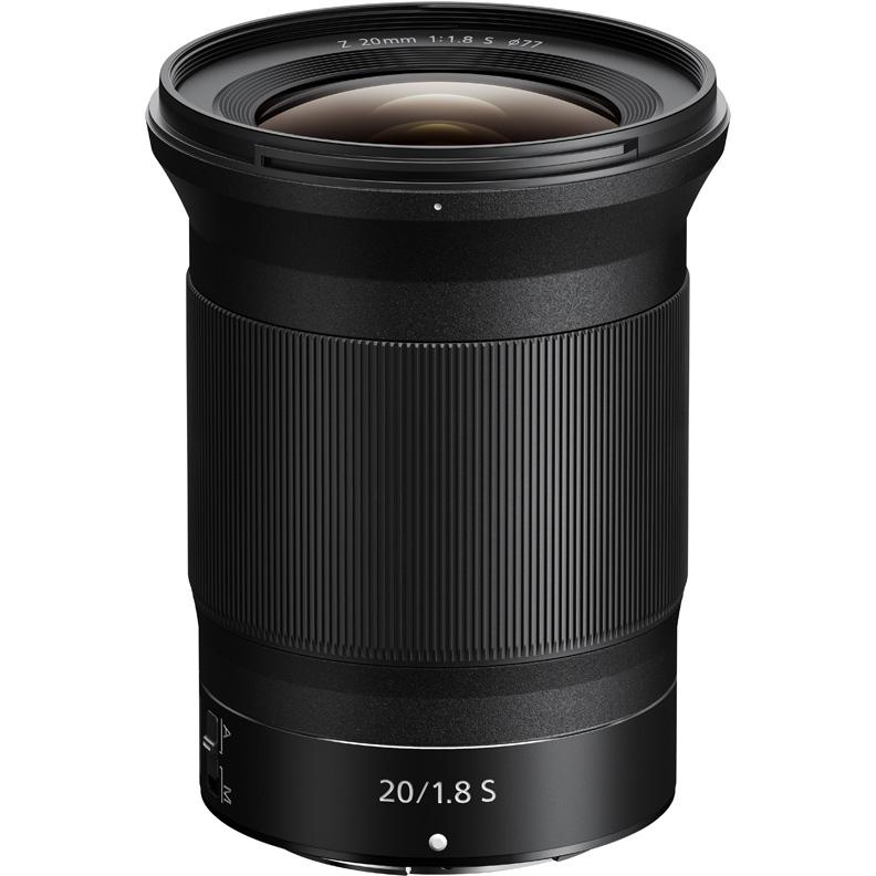 Объектив Nikon 20mm f/1.8 Nikkor Z