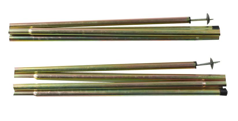 Сегменты каркаса палатки Alexika 9554.1711 1,6x170 см Сталь