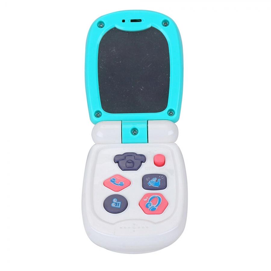 Развивающая игрушка Pituso Музыкальный телефон голубой