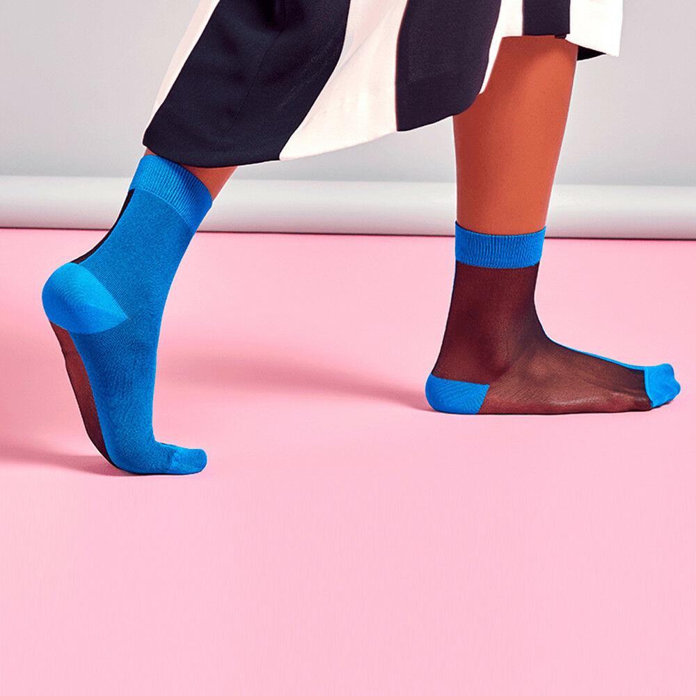 Носки женские Hysteria Filippa синие 36-41