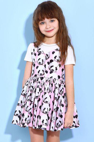 Платье для девочек Noble People розовый 92