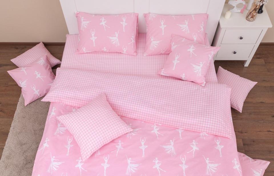 Купить Комплект постельного белья Хлопковый Край Балерины 1, 5 спальный,