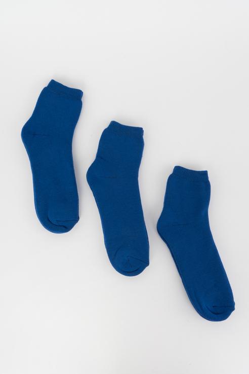 Набор носков женский Мой размер Ж-027_3 шт Голубой голубой