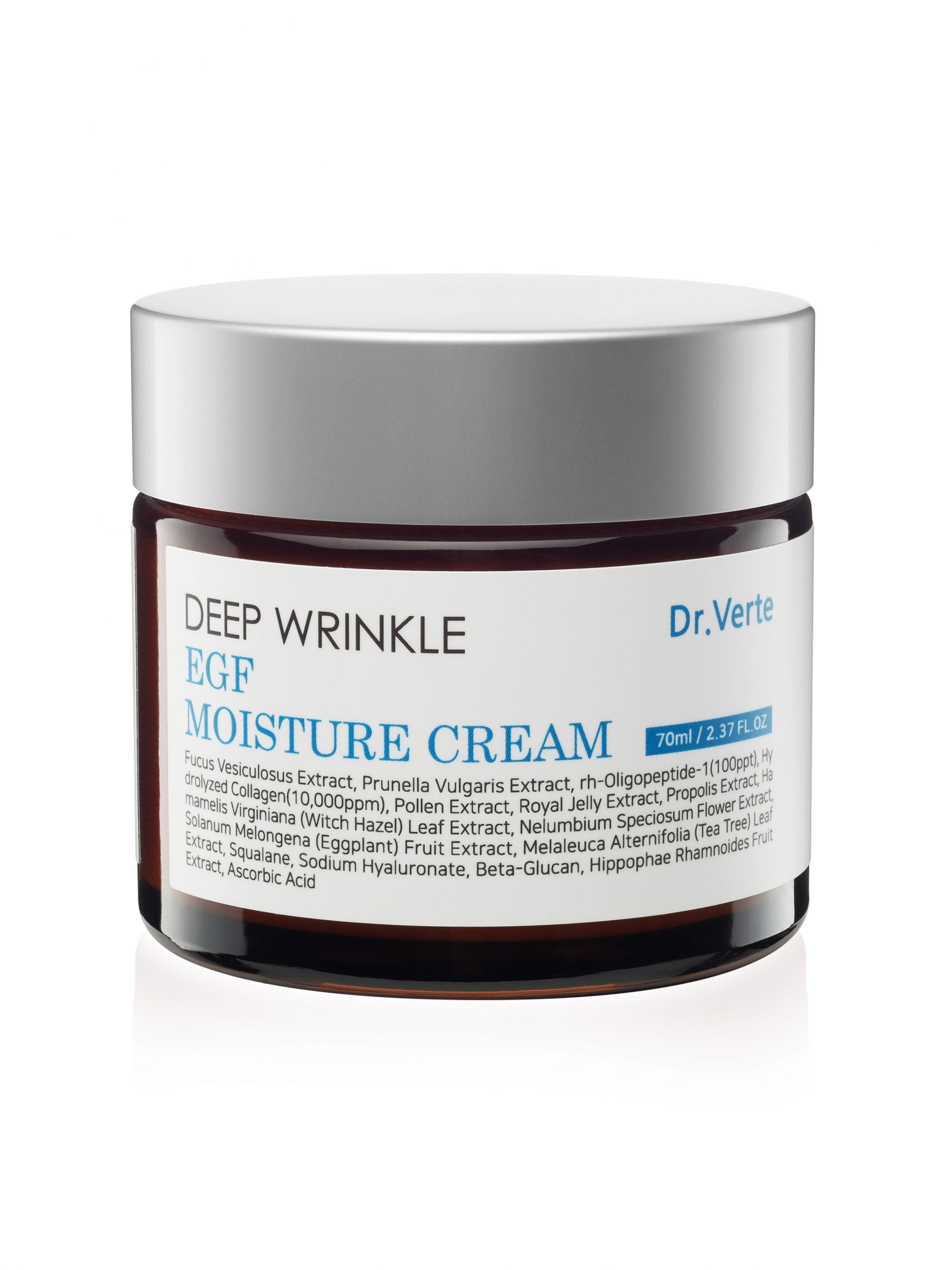 Купить Крем для лица Dr.Verte омолаживающий DEEP WRINKLE EGF MOISTURE CREAM 70 мл, Dr.Verte_05