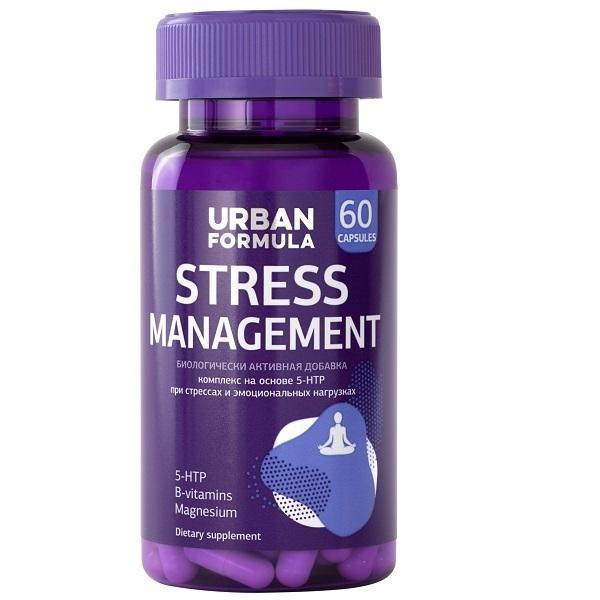 Купить Антистрессовый комплекс Urban Formula с 5-HTP Stress Management капсулы 60 шт.