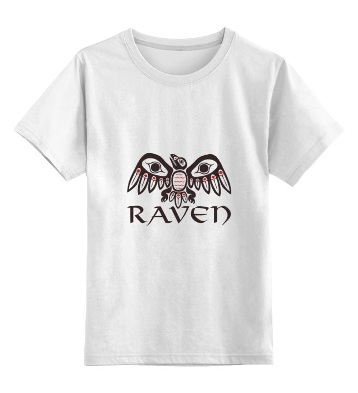 Детская футболка классическая Printio Raven brand, р. 152 0000000709935