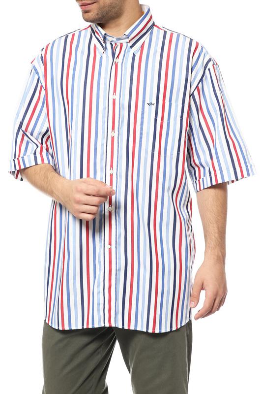 Рубашка мужская Paul & Shark Е14Р0381 серая 44