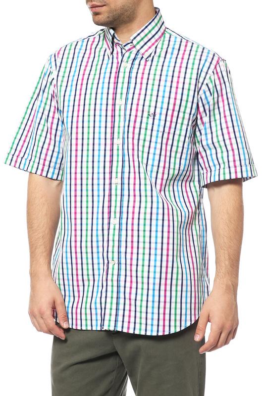 Рубашка мужская Paul & Shark Е14Р0343 серая 44