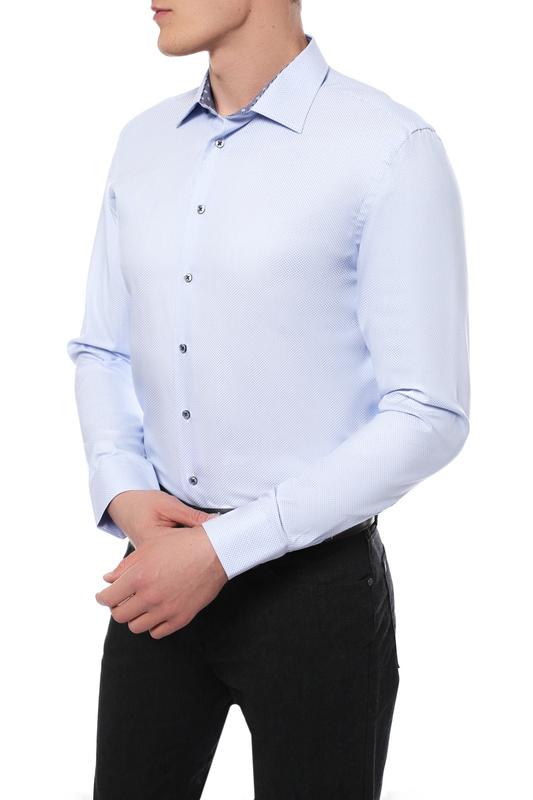 Рубашка мужская Sand XO SS17 8663 синяя 52