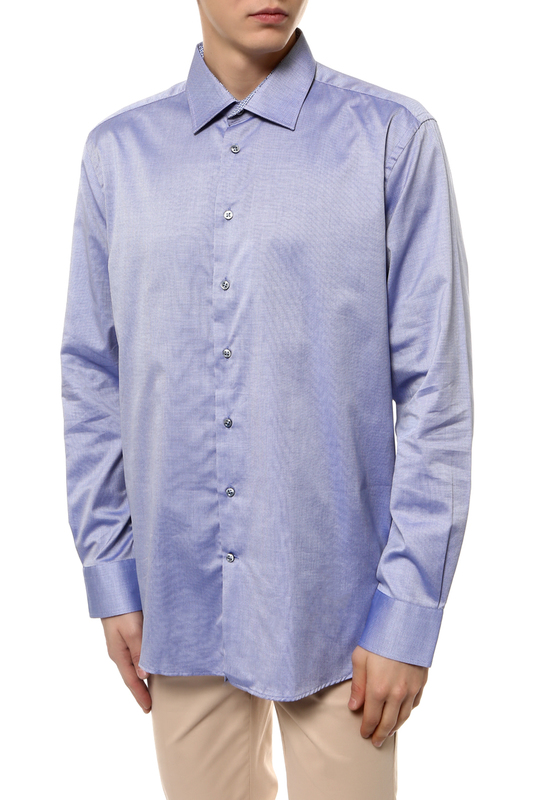 Рубашка мужская Sand XO SS17 8543 DETAILS синяя 54