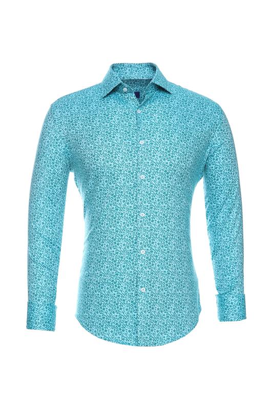 Рубашка мужская BAWER RZ2412070-06 голубая 50