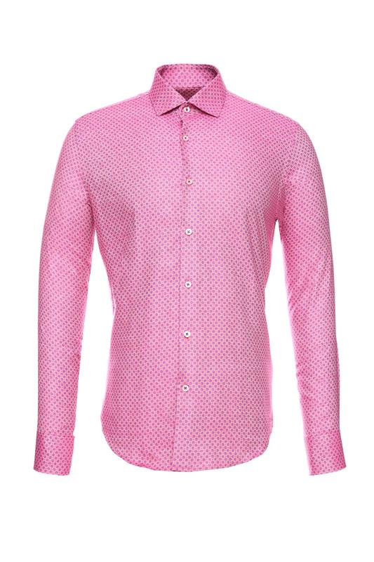 Рубашка мужская BAWER RZ2412068-01 розовая 46