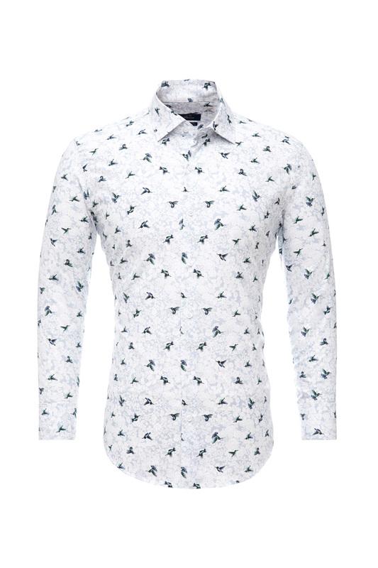 Рубашка мужская BAWER RZ2112078-06 белая 44