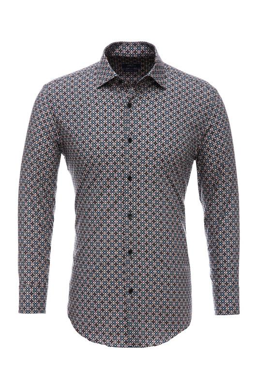 Рубашка мужская BAWER RZ2112078-03 оранжевая 44