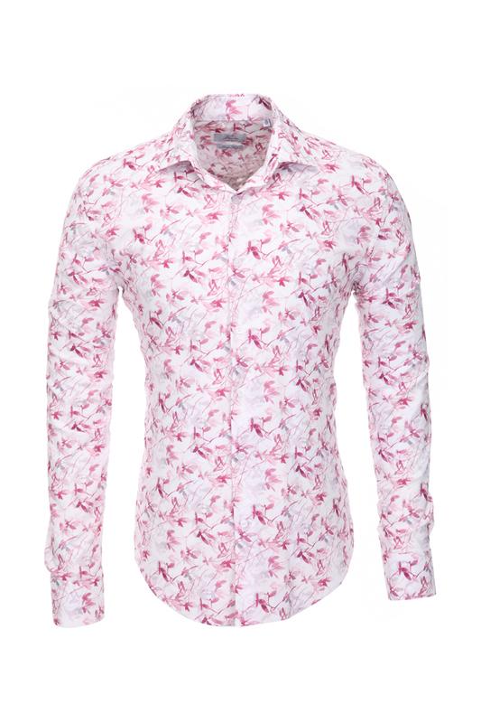 Рубашка мужская BAWER RZ1412064-02 розовая 48