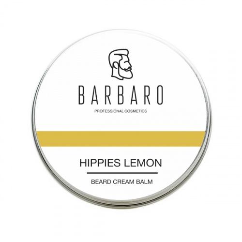 Крем бальзам для бороды Barbaro Hippies Lemon