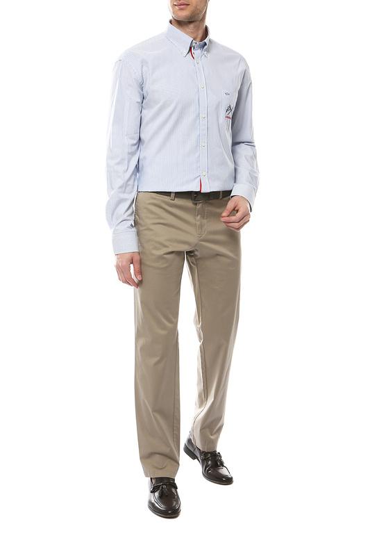 Рубашка мужская Paul & Shark P19P3433/100 голубая 50-52