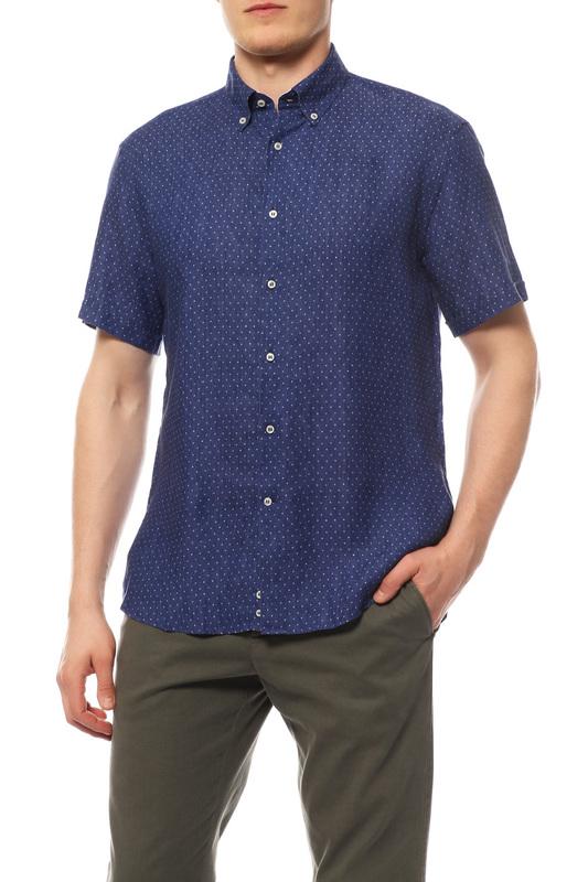 Рубашка мужская Paul & Shark P16P0366SF/173 синяя 48