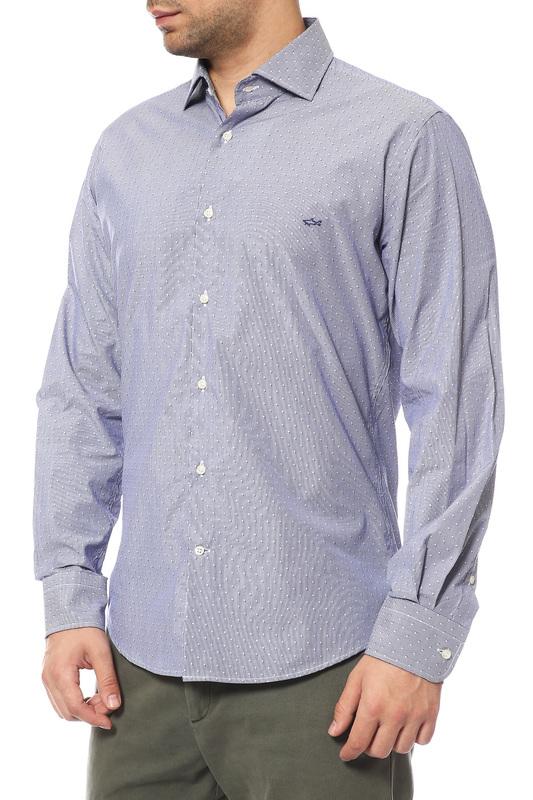 Рубашка мужская Paul & Shark P15P1360SF черная 48