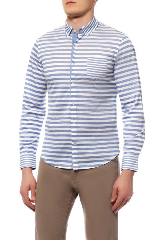 Рубашка мужская Paul & Shark P15P0915SF/513 голубая 50