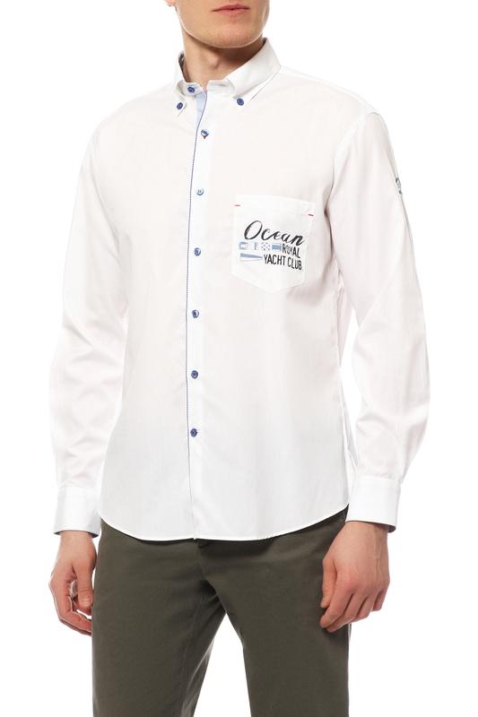 Рубашка мужская Paul & Shark P14P1569SF/010 белая 46