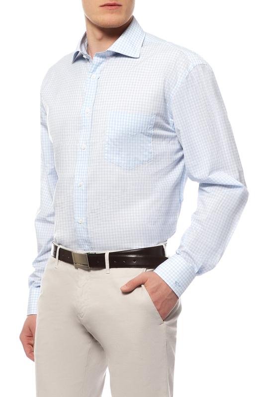 Рубашка мужская Paul & Shark P14P1531SF/001 голубая 46