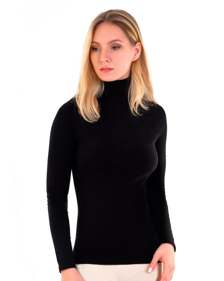 Водолазка женская Mademoiselle Dolcevita ML (Ilar) черная L/XL