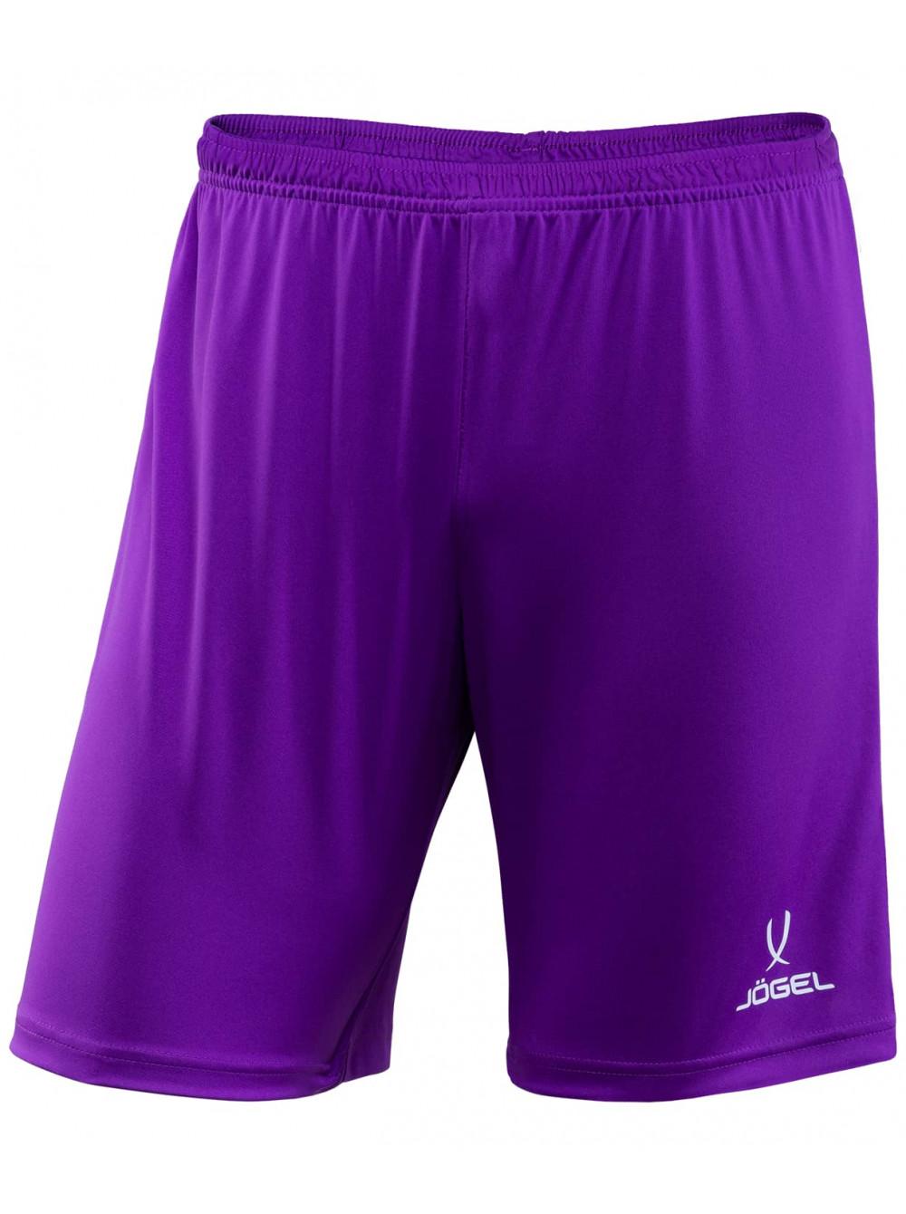 Купить Шорты футбольные детские Jögel CAMP JFS-1120-V1-K фиолетовый/белый, р. 122, Jogel,