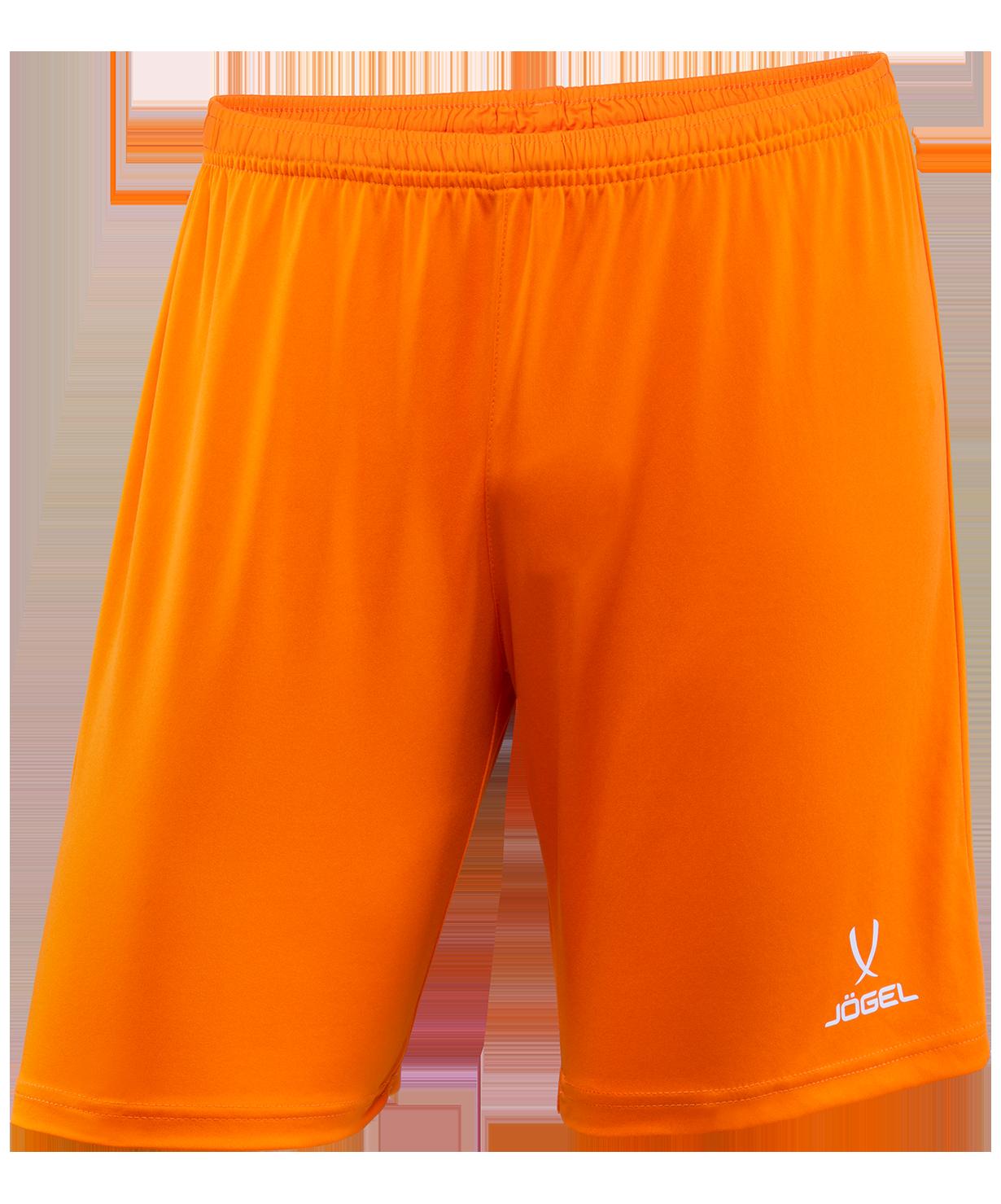 Купить Шорты футбольные детские Jögel CAMP JFS-1120-O1-K оранжевый/белый, р. 122, Jogel,
